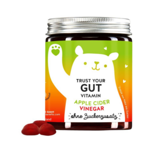 Bears with Benefits Trust Your Gut Vitamins õunasiidriäädikaga 60tk 1/2
