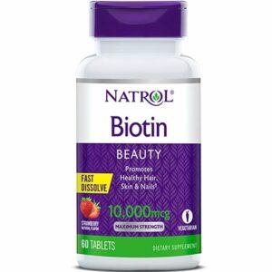 Biotin 10000mcg Fast Dissolve (60tk) 1/2