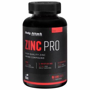 Body Attack Zinc Pro kapslid (180 tk) kuupäevaga 08.2020 1/1
