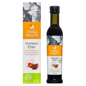 Chaga Health Immuno Eliksiir MAHE, Astelpaju (250 ml) 1/1