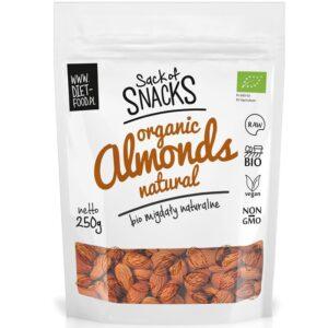 Diet Food Bio Almonds orgaanilised mandlid (250 g) 1/1