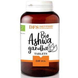 Diet Food Bio Ashwagandha tabletid (240 tk) 1/1