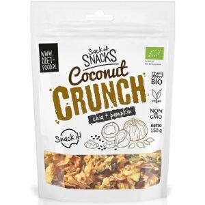 Diet Food Bio Coconut Crunch - Chia + kõrvitsaseemned (150 g) 1/1