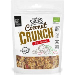 Diet Food Bio Coconut Crunch - Goji + seesamiseemned (150 g) 1/1