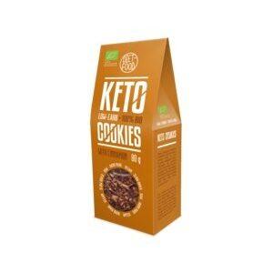 Diet-Food BIO KETO COOKIES KANEELIGA 80 g 1/2