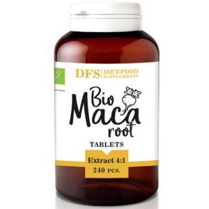Diet Food Bio Maca Extract 4:1 maca juureekstrakti tabletid (240 tk) 1/1