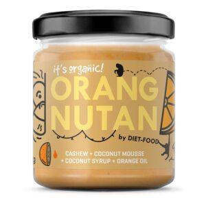 Diet Food Bio orgaaniline pähklikreem apelsiniga, ORANGNUTAN (200 g) 1/1