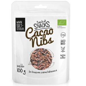 Diet Food Bio Raw Cacao Nibs orgaanilised toorkakao oad (100 g) 1/1