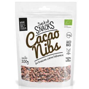Diet Food Bio Raw Cacao Nibs orgaanilised toorkakao oad (200 g) 1/1