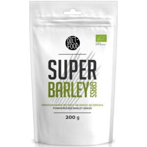Diet Food Bio Super Barley Grass odraorase pulber (200 g) 1/1