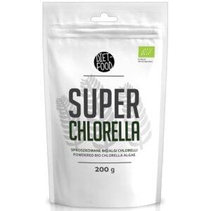 Diet Food Bio Super Chlorella klorella pulber (200 g) 1/1