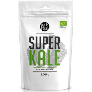 Diet Food Bio Super Kale orgaaniline lehtkapsa pulber (100 g) 1/1