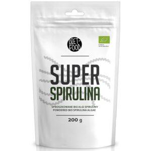 Diet Food Bio Super Spirulina pulber (200 g) 1/1