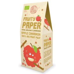 Diet Food Fruity Paper orgaanilised marjakrõpsud, Õuna-kaneeli (25 g) parim enne 01.08.2020 1/1