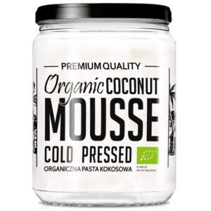 Diet Food Organic Coconut Mousse kookospasta (500 ml) 1/1