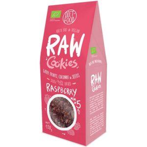 Diet Food Raw Cookies toorküpsised, Vaarika (100 g) 1/1