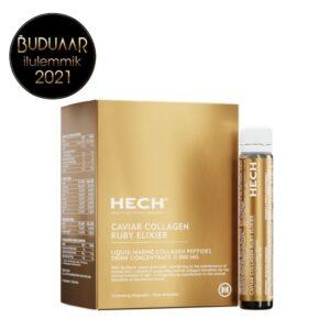 HECH Caviar Collagen Ruby Elixier kollageenijook peptiididega 11 000 mg 1/2