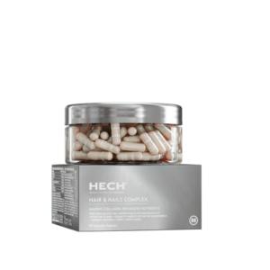 HECH Hair and Nails Complex juukseid ja küüsi tugevdavad kapslid 90tk 1/2