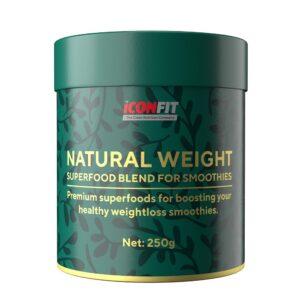 ICONFIT Natural Weight (Marjadega, Smuutidele 250 g) 1/1
