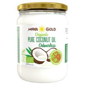 Maya Gold Organic Pure Odourless rafineeritud kookosõli (500 ml) 1/1