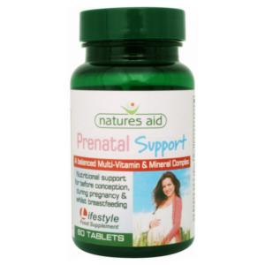 Natures Aid Rasedusaegne vitamiini- ja mineraalikompleks 60tk 1/1