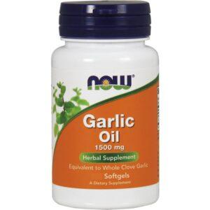 NOW Garlic Oil 1500 mg kapslid (250 tk) 1/1