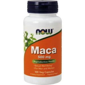 NOW Maca 500 mg kapslid (100 tk) 1/1