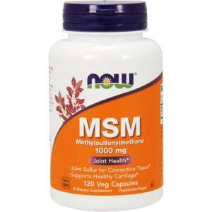 NOW MSM 1000 mg kapslid (120 tk) 1/1