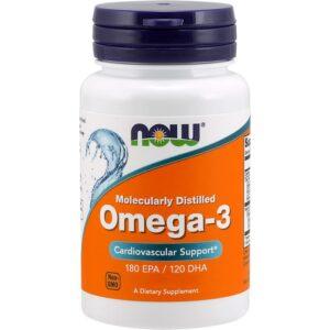 NOW Omega-3 õlikapslid (100 tk) 1/1