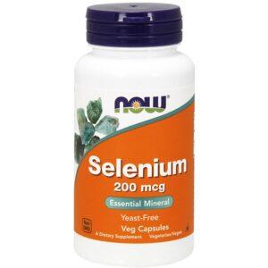 NOW Selenium 200 mcg kapslid (90 tk) 1/1