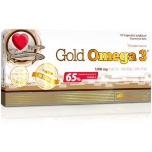 Olimp Gold Omega 3 kapslid (60 tk) 1/1