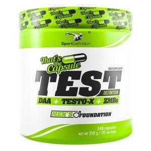 Sport Definition Test Definition DAA + TESTO-X + ZMB6 kapslid (240 tk) 1/1