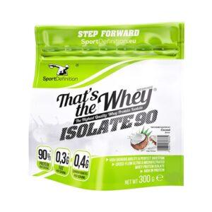 Sport Definition That's The Whey Isolate vadakuvalguisolaat, Kookose (300 g) 1/1