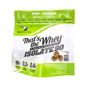 Sport Definition That's The Whey Isolate vadakuvalguisolaat, Küpsise (300 g) 1/1
