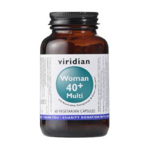 Viridian Vitamiinide ja mineraalainete kompleks naistele 40+, 60kps 1/1