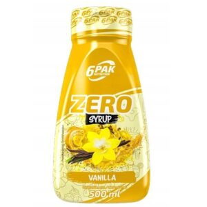 6PAK Syrup Zero siirup, Vanilje (500 ml) 1/1