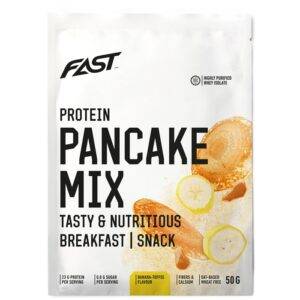 Fast Protein Pancake Mix valgurikas pannkoogijahu, Banaani-iirise (50 g) 1/1