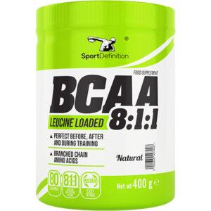 Sport Definition BCAA 8:1:1, Maitsestamata (400 g) 1/1