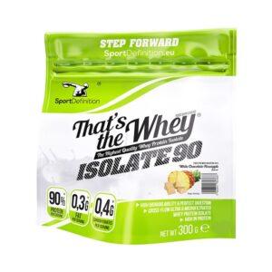 Sport Definition That's The Whey Isolate vadakuvalguisolaat, Valge šokolaadi-ananassi (300 g). 1/1