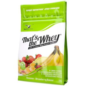 Sport Definition That's the Whey valgupulber, Maasika-banaani (700 g) 1/1